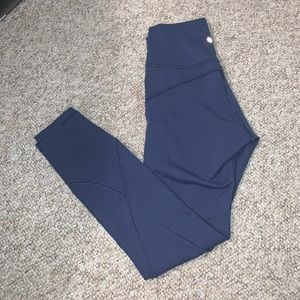 """NEW thunder blue in movement tight 25"""""""